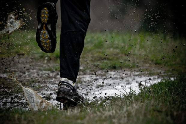 muddy shoes 2